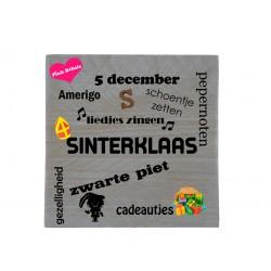 Tekstbord Sinterklaas type...