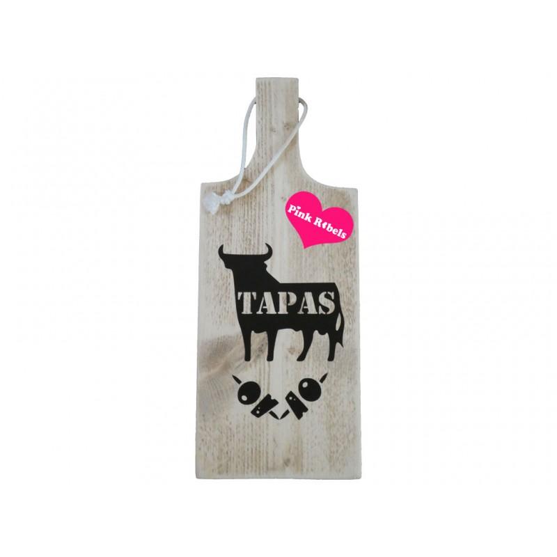 Opdienplank van steigerhout type Tapas