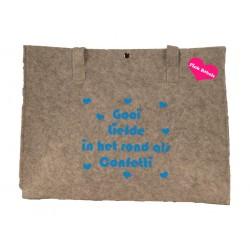 Shopper groot type confetti